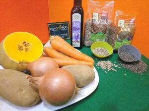 Ingredientes Crema de Calabaza